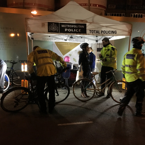Mount Anvil's Exchanging Places Event - Working with the MET Police and LB H&F